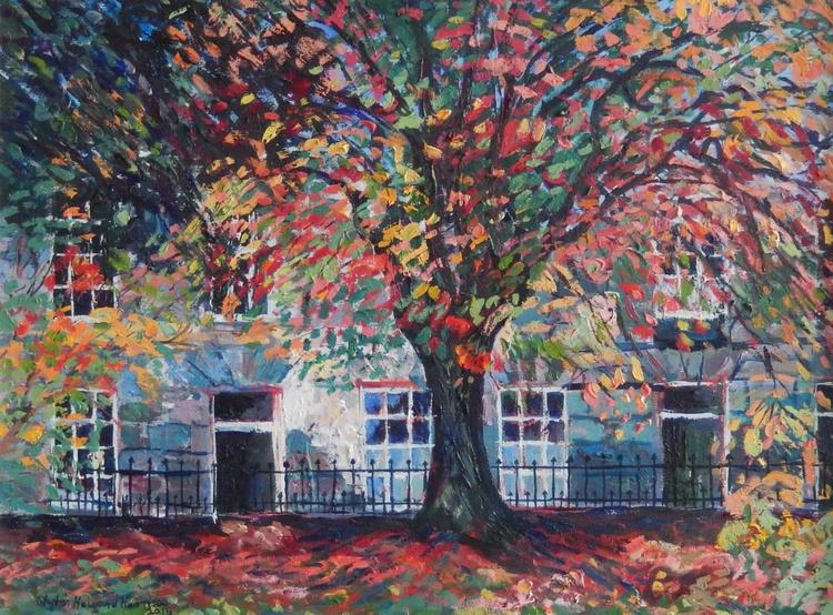 Autumn In Saxe Coburg Place, Edinburgh - Image 0