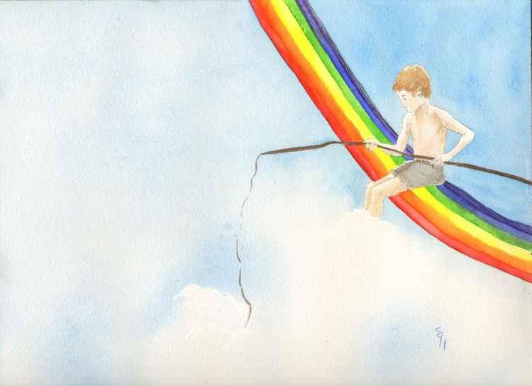 Fishing on a Rainbow -