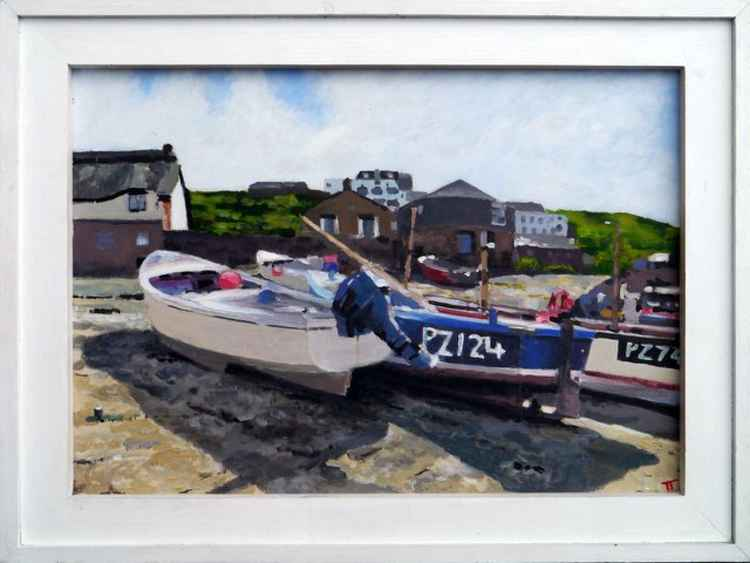 Fishing boats, Sennen Cove