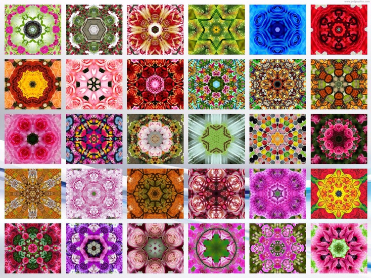 Mandala collage x30 1 - Image 0