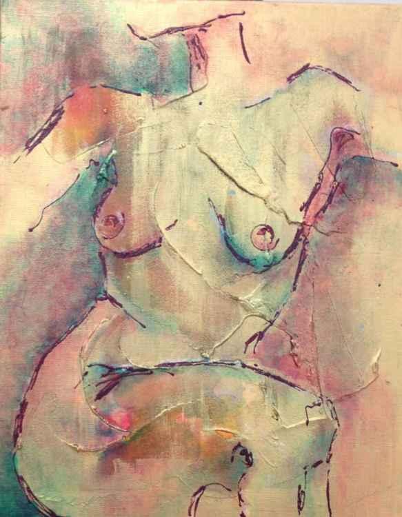 Languishing Nude -