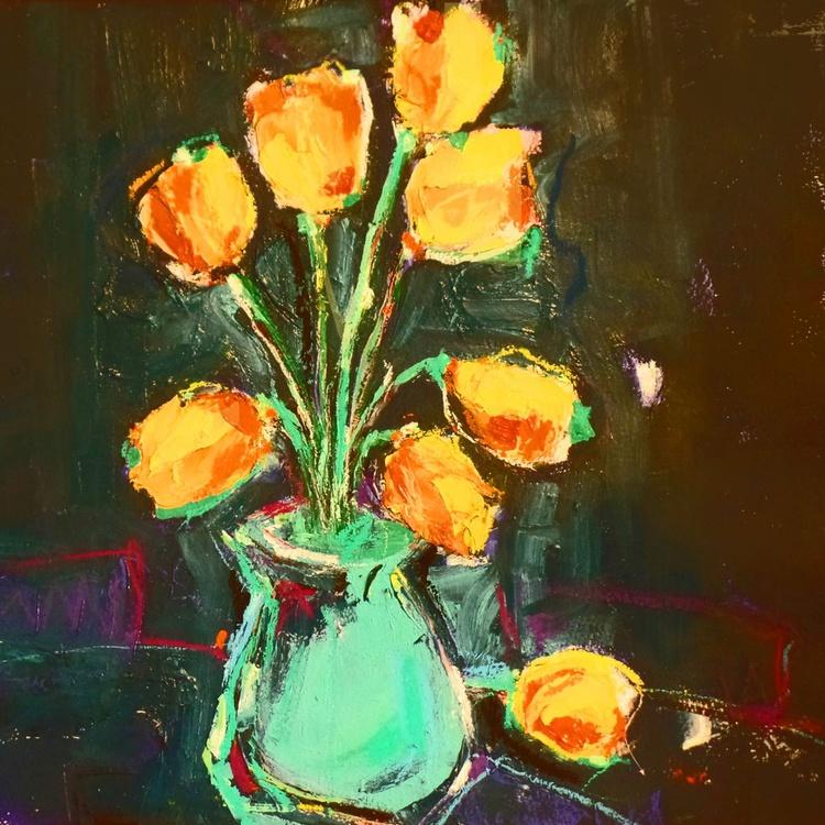 Orange Tulips - Image 0