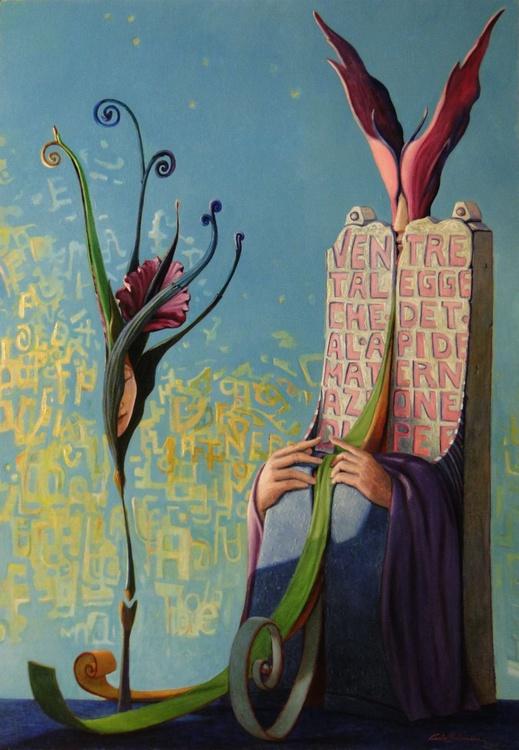 CUT FLOWER -(framed) - Image 0