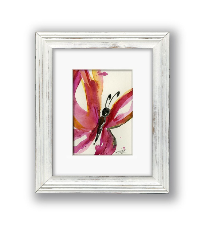 Butterfly Watercolor 2 - Abstract by Kathy Morton Stanion - Image 0