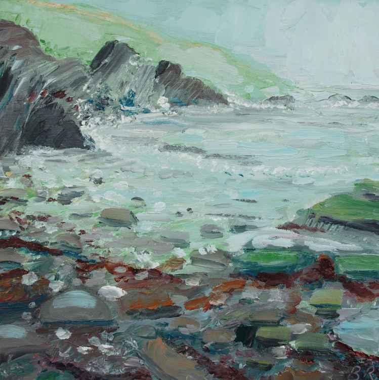 A Rocky Beach at Lantivet -