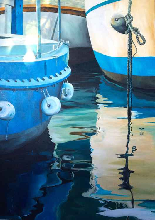 Boats on the Water -
