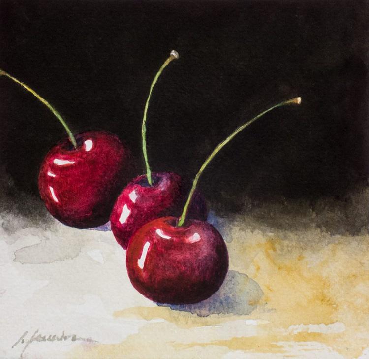 Three cherries II - Image 0