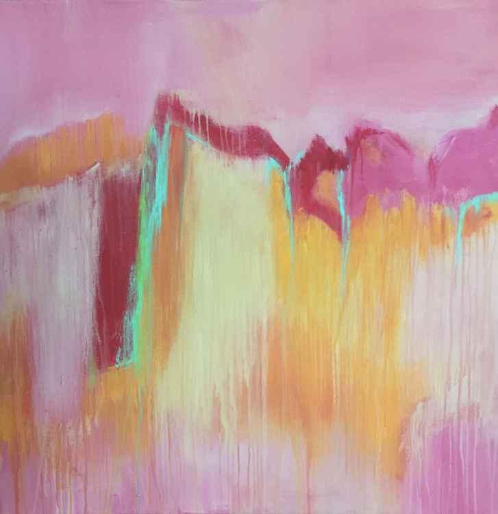 Blush cliffs -
