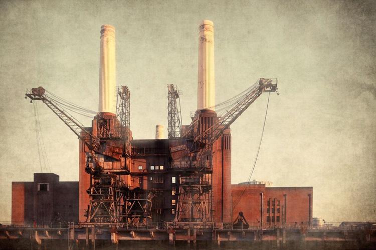 Battersea power 1 - Giclee print - Image 0
