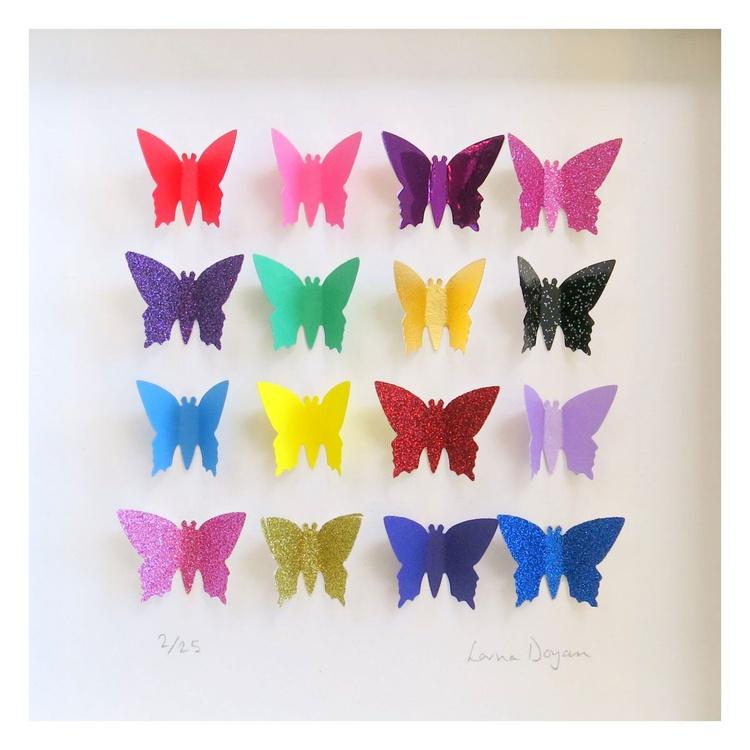 Glitter Butterfly Box - Image 0