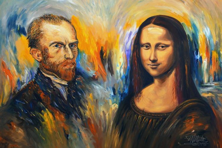 Vincent Meets Mona Lisa XL 1 - Image 0
