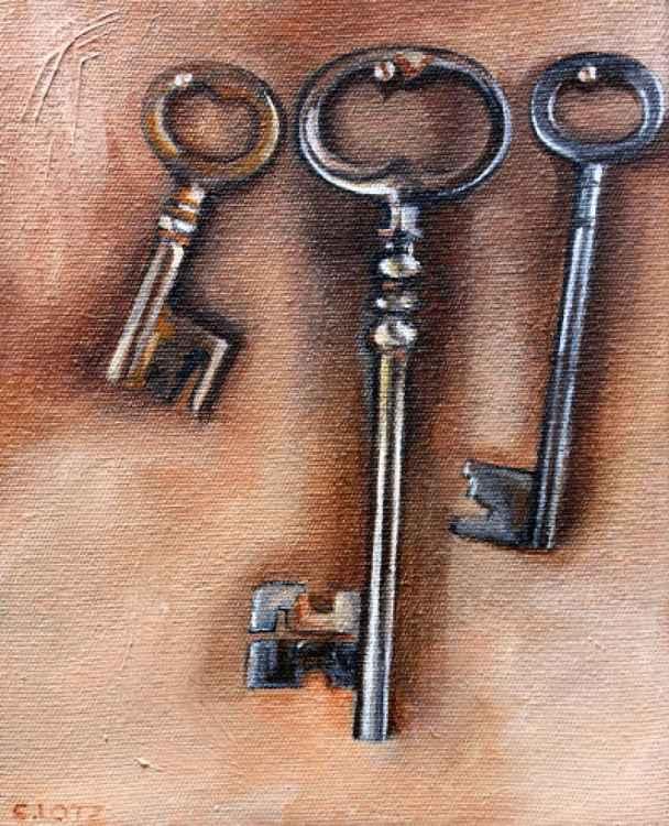 Three Old Keys -