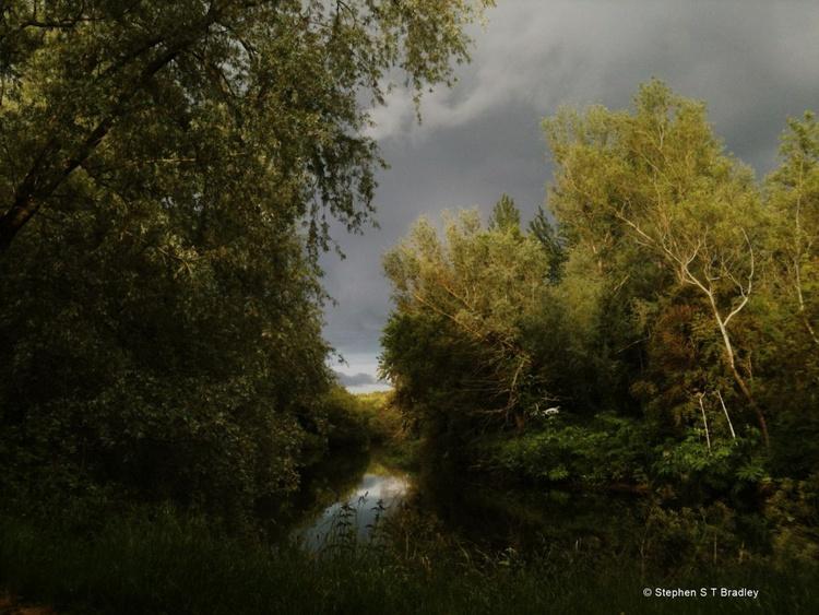 Lagan Tow Path - fine art landscape photograph of Ireland. - Image 0
