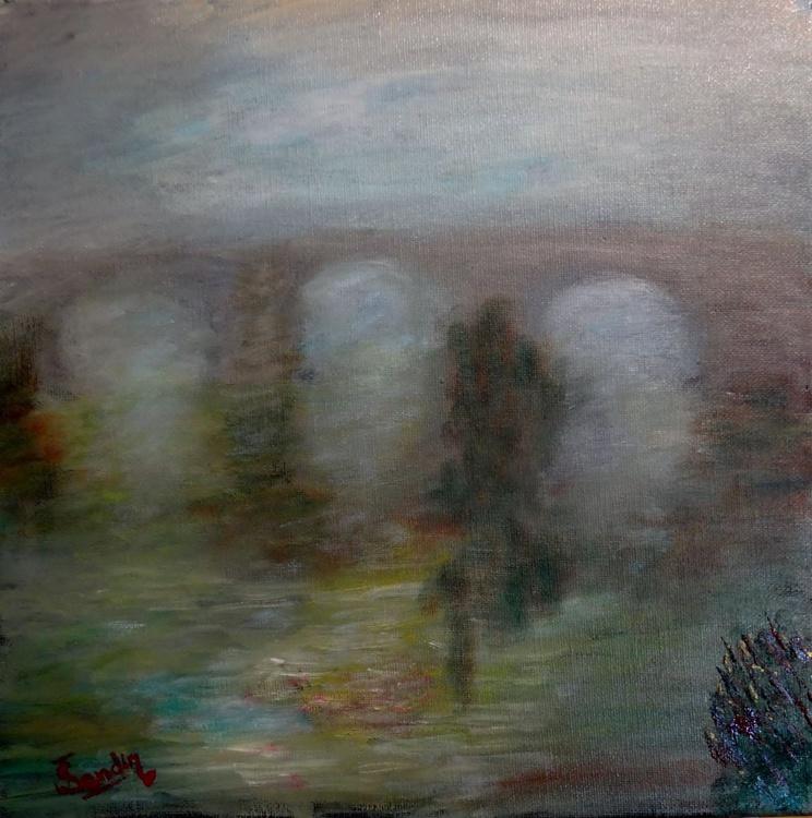 Niebla en el río (Misty river) - Image 0