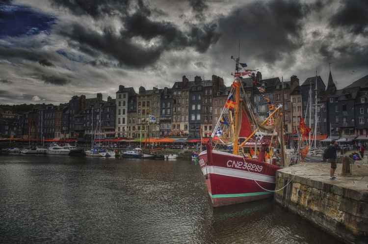 The harbour of Honfleur -