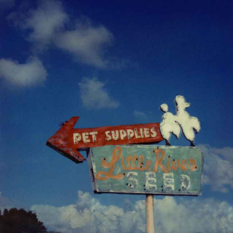 Old Pet Store Metal Sign, Miami FL
