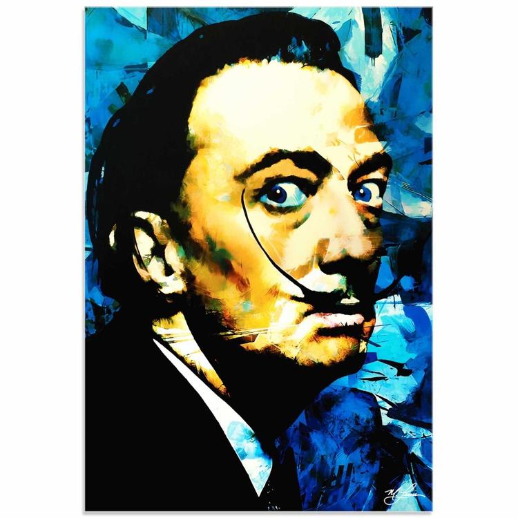 Mark Lewis 'Salvador Dali Apparatus Man' Limited Edition Pop Art Print on Acrylic - Image 0