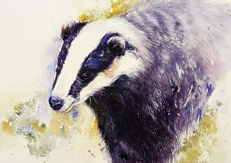 Blue Badger - Image 0