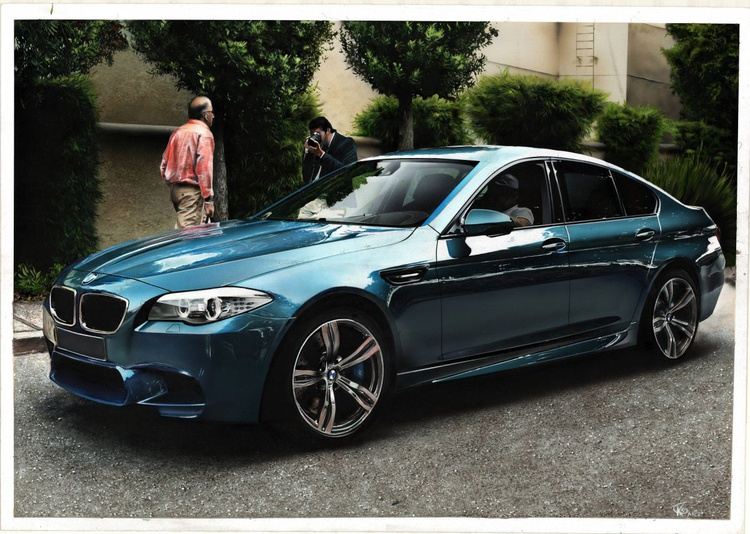 Bmw auto M5 painting - Image 0