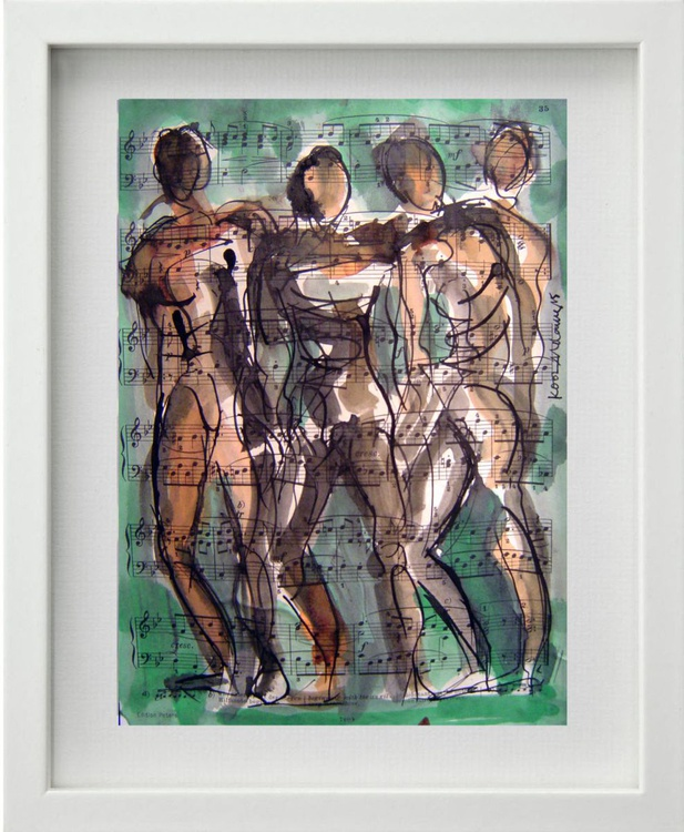 Four Male Figures - Image 0