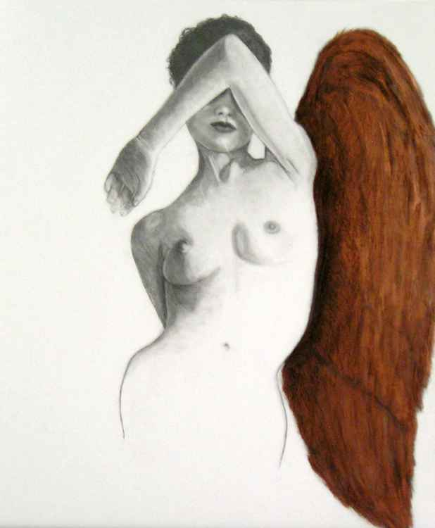 Study of Figure with Wing -