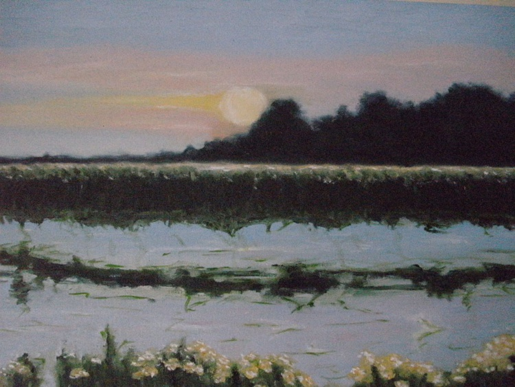 Sunset on the lake - Image 0
