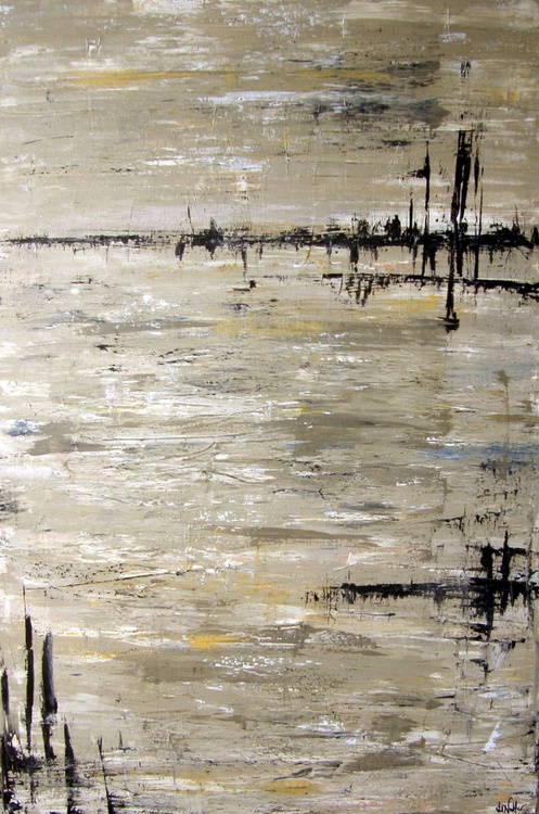 "Sepia Shores 10  (36""x24"") - Image 0"