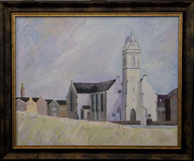 Andreas church Katwijk aan zee -
