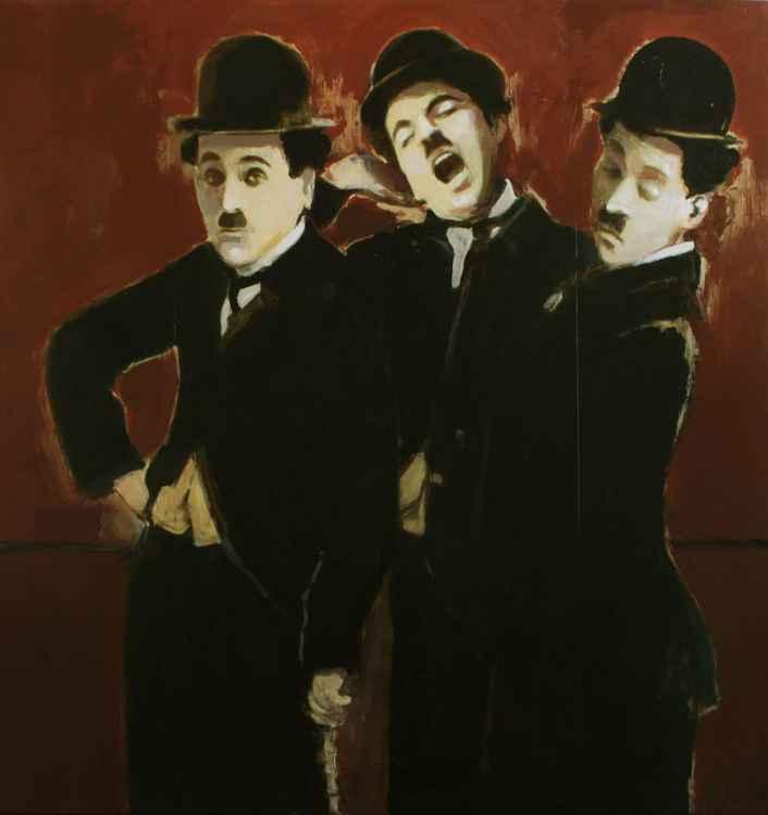 3 x Charlie Chaplin    (Cat N° 3372)