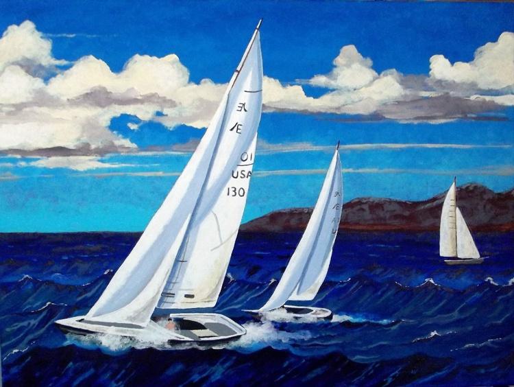 Sailboats - Image 0