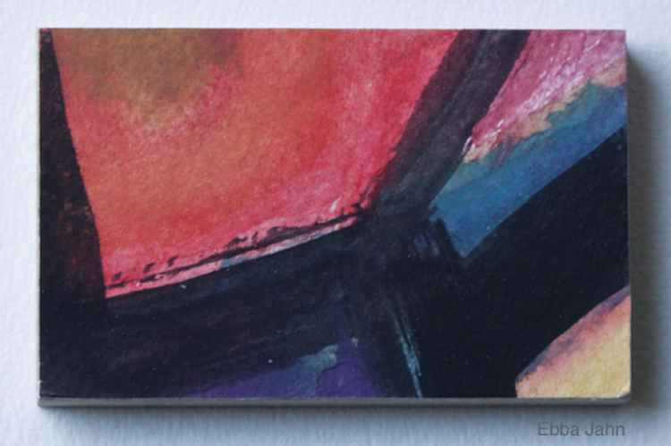 Miniature # 7 Red Space -