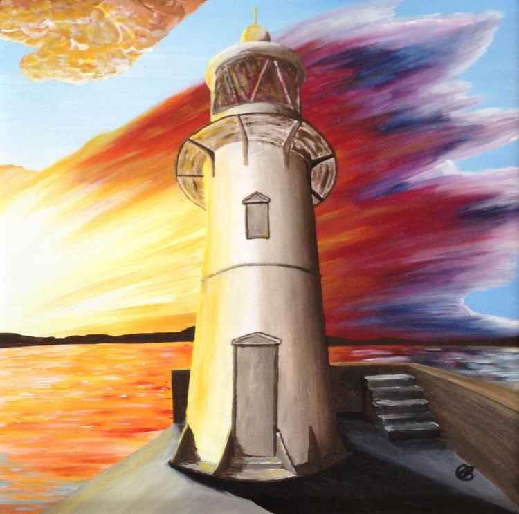 Brixham Lighthouse Small Limited Edition Print