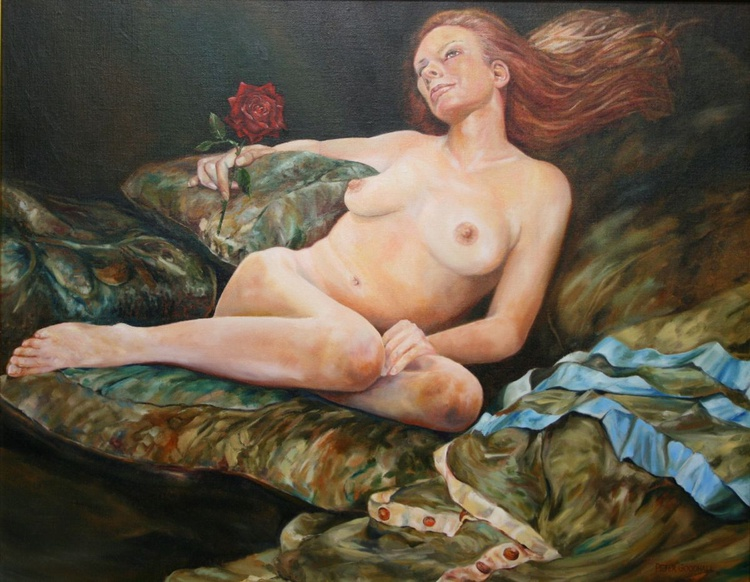 NUDE WITH ROSE - Image 0