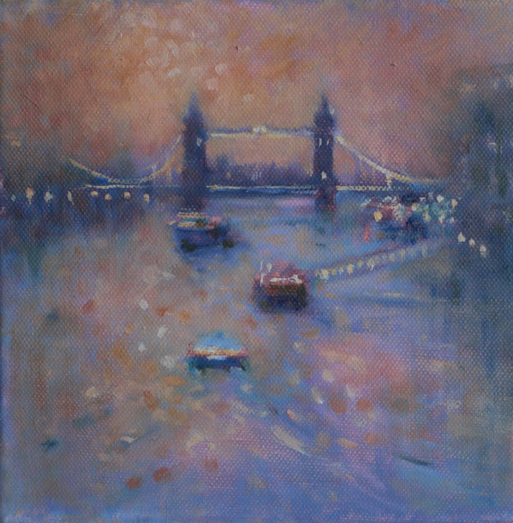 Tower Bridge, London, Sunset - Image 0