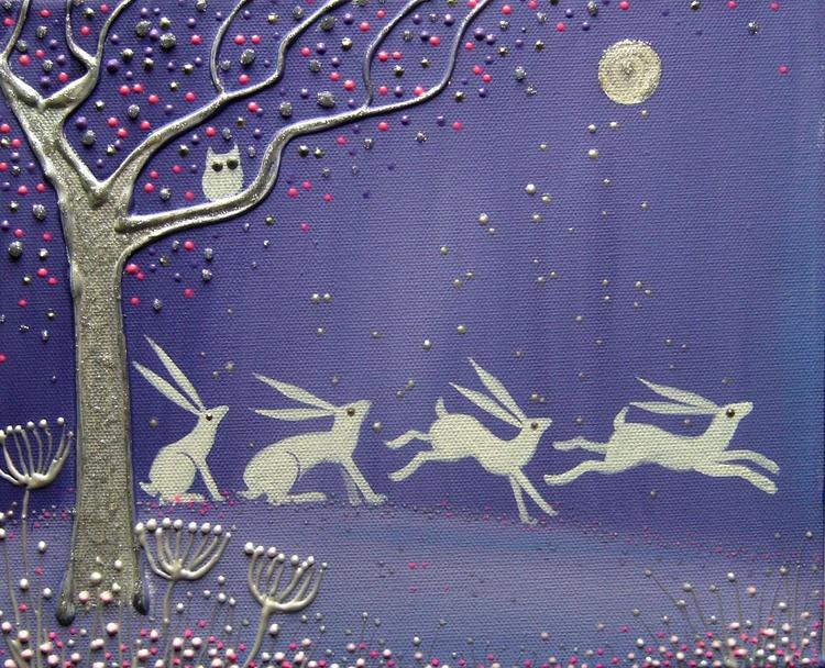 Dancing Moon Hares - Image 0