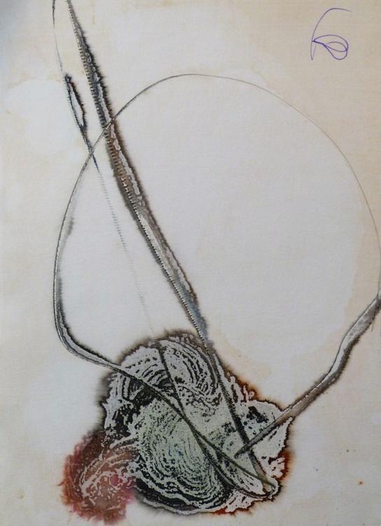 Abstract Head #2, 29x41 cm - Image 0