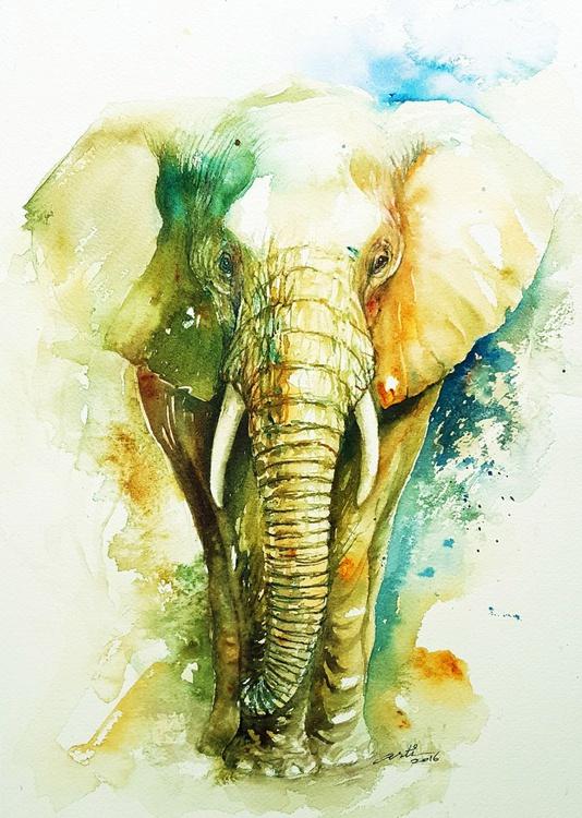 Emerald Elephant - Image 0