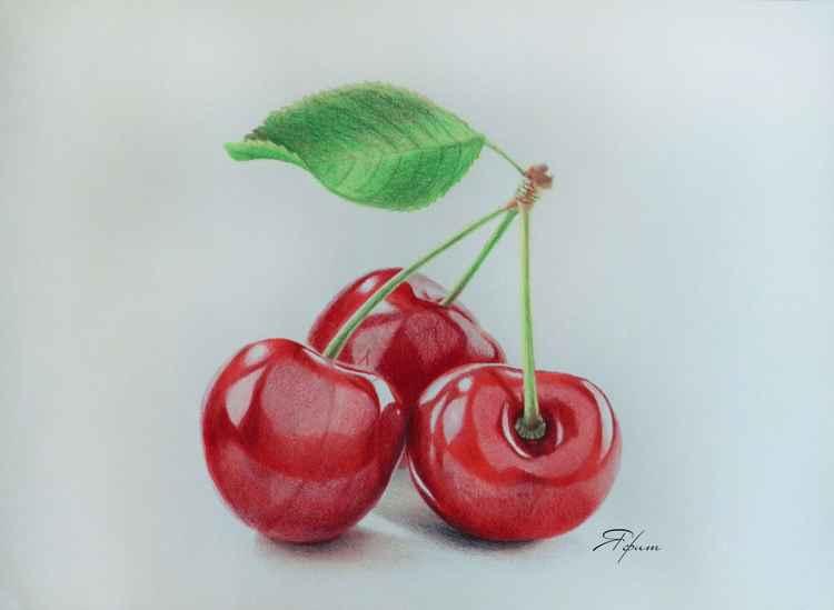 Cherry trio -
