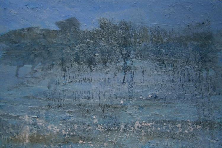 Blue Dusk, Deep Winter - Image 0