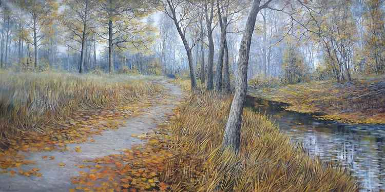 Path to the river -
