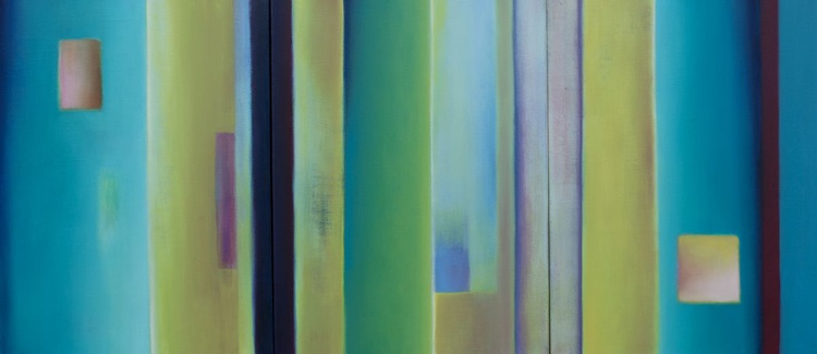 Colour Abstract Triptych - Image 0