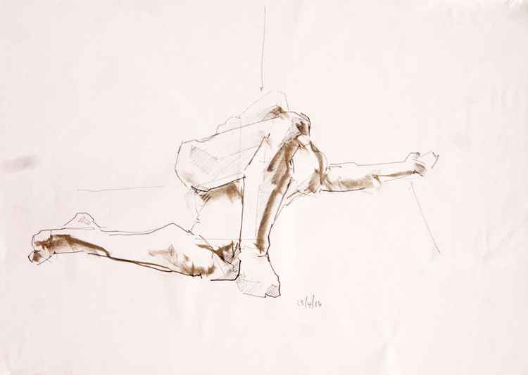 Life Drawing No 71 -