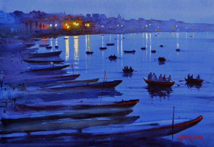 Moods of Varanasi # 8 - Image 0