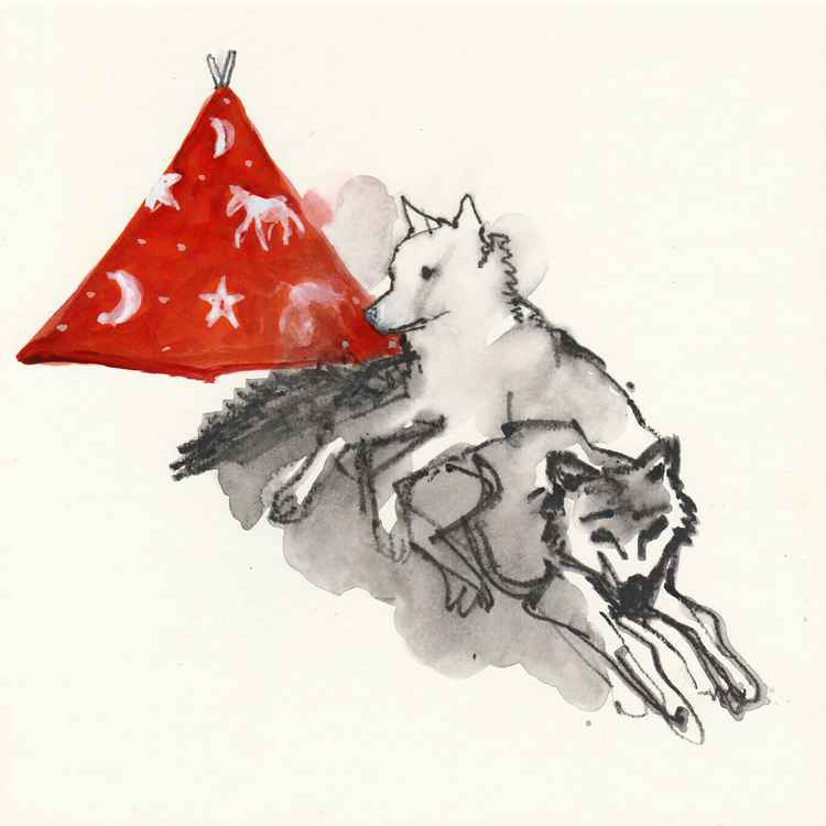 Wolf brothers, Red Teepee -