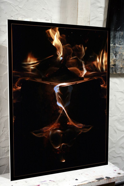 FANTASTIC INCANDESCENT REALITY FIRE COMPOSITION MANIPULATED PHOTOGRAPHY BY MASTER OVIDIU KLOSKA - Image 0