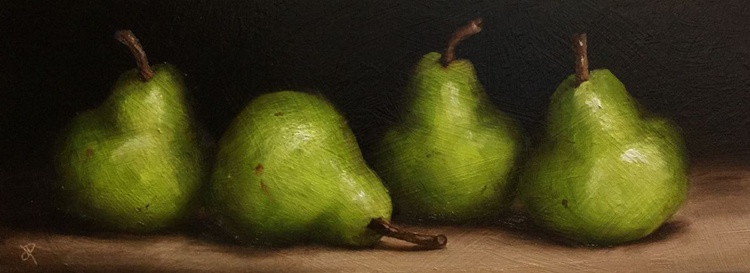 Four Pears - Image 0