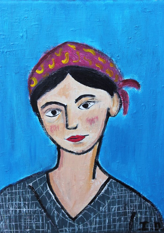 Portrait of Marta - Image 0