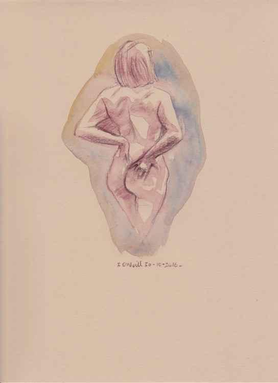 Standing nude -