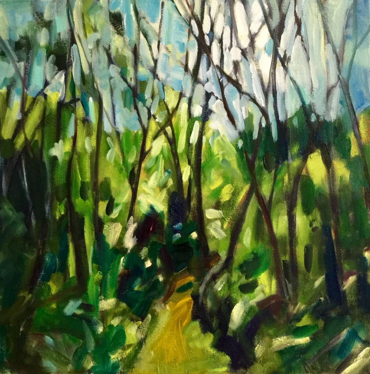 Forest Path, August - Image 0