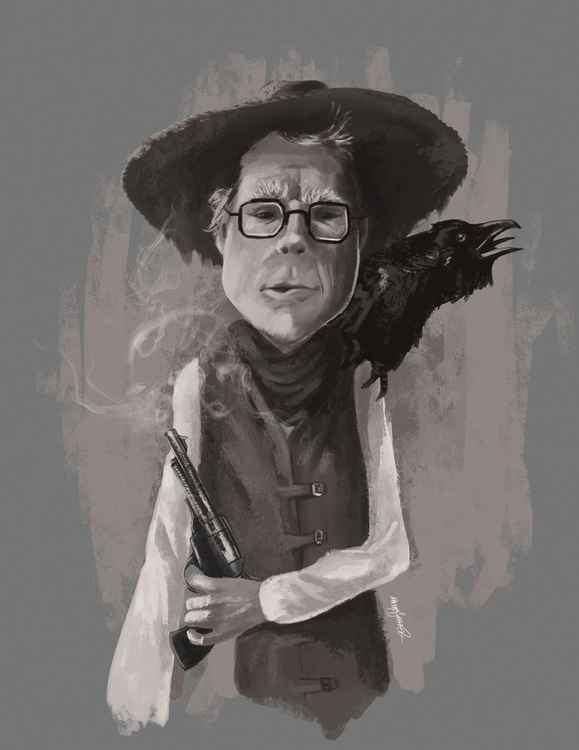 Stephen King as the Gunslinger